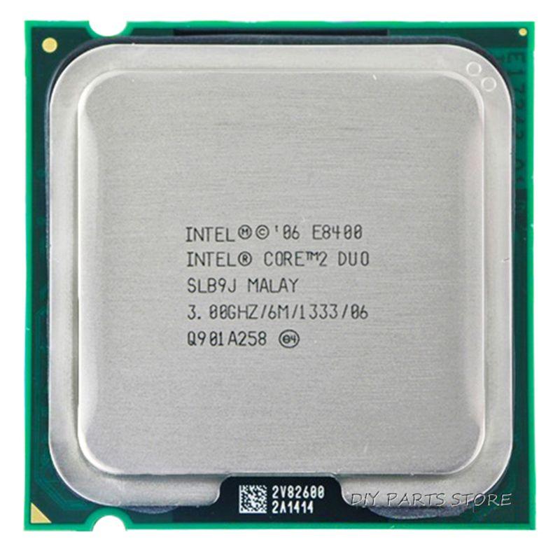 INTEL Core 2 Duo DUAL CORE E8400 CPU Prozessor INTEL E8400 CPU (3,0 Ghz/6 Mt/1333 GHz) Buchse 775