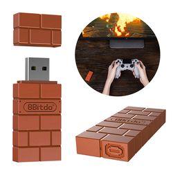 Luar Negeri untuk 8 Bitdo Nirkabel USB Bluetooth Adapter Receiver Untuk Windows Mac untuk Nintend Switch untuk PS3/Xbox Satu controller