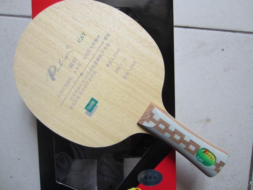 Lame de tennis de table d'origine Palio CAT 3 bois + 2 lame de tennis de table en carbone, meilleure raquette de tennis de table à lame légère sports de raquette