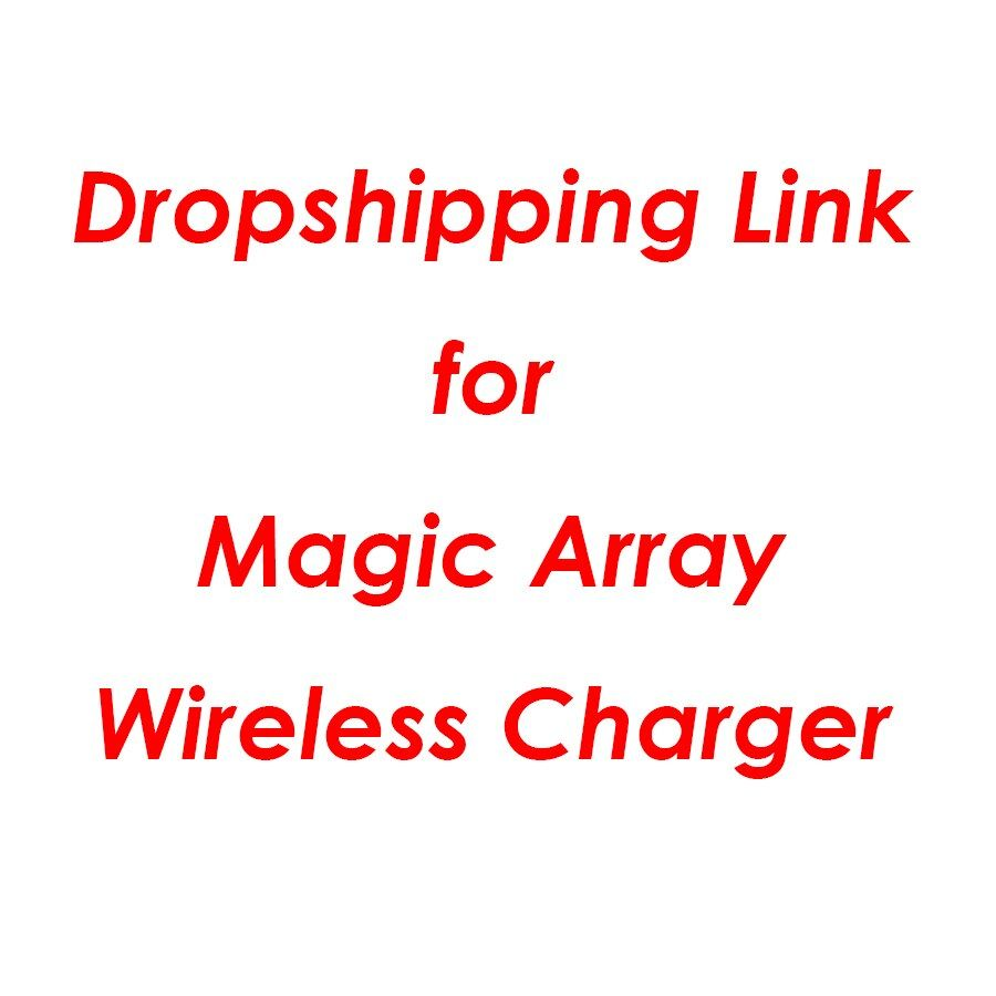 Universal Magic Array Wireless Charger Qi Wireless Fast Quick Charging Pad for iPhone X XS 8 Samsung Xiaomi Redmi Huawei Honor