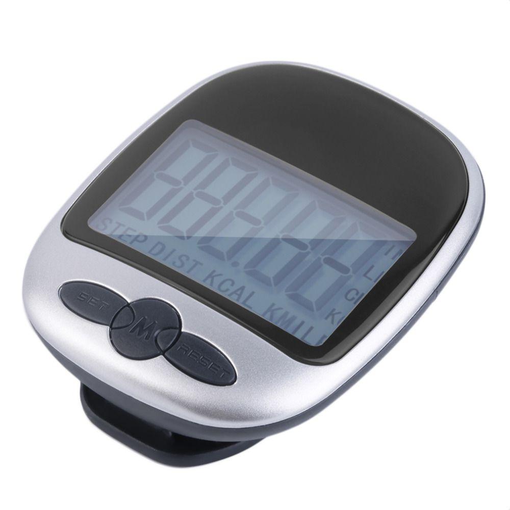 1 stück LCD Schrittzähler Kalorien Walking Laufen Jogging Walking Distance Berechnung Digitale Zähler Laufen Jogging Gehen