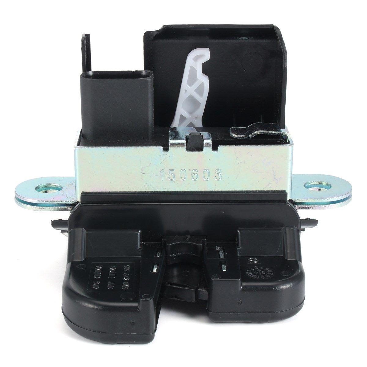 4 PINS Auto Stamm Lock Block Hinten Deckel Lock Für VW/Golf 6/GTI/Golf R/ PASSAT/Neue POLO/TIGUAN 6RD827505 5ND827505