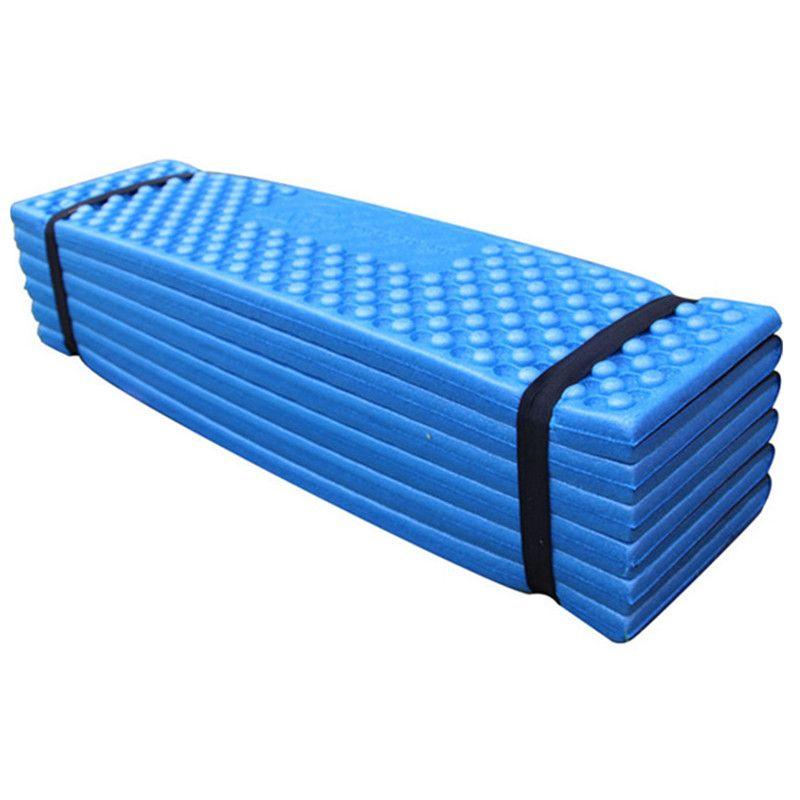 Outdoor Camping Mat Ultralight Foam Picnic Mat <font><b>Foldable</b></font> Beach Mat Tent Sleeping Pad Waterproof Travel Mat Camping Mattress