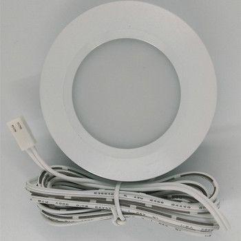 3W LED Under Cabinet Light Downlight Spotlights Kit Home Kitchen Counter Closet Lighting Energy Saving Lights Lamp Bulb 110-240V