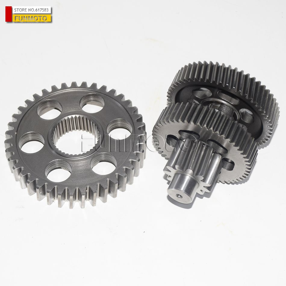 Differential reverse gear and middle gear suit for XYKD260/XINYUE 260 ATV/GSMOON 260