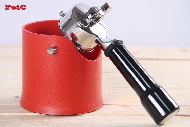 ЕФФП 2014New Кофе эспрессо основания остатка Knock Box для бариста Кофе основания контейнер пластиковый малый