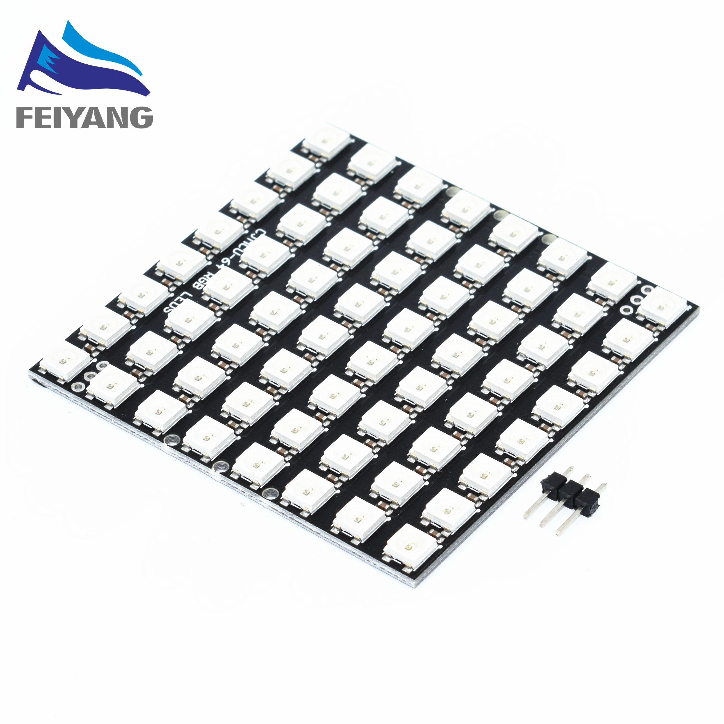 5pcs WS2812 LED 5050 RGB 8x8 64 LED Matrix