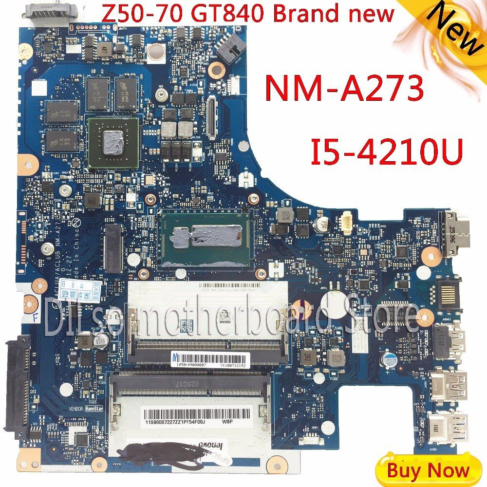 KEFU G50-70M For Lenovo G50-70 Z50-70 i5 motherboard ACLUA/ACLUB NM-A273 Rev1.0 with graphics card Test