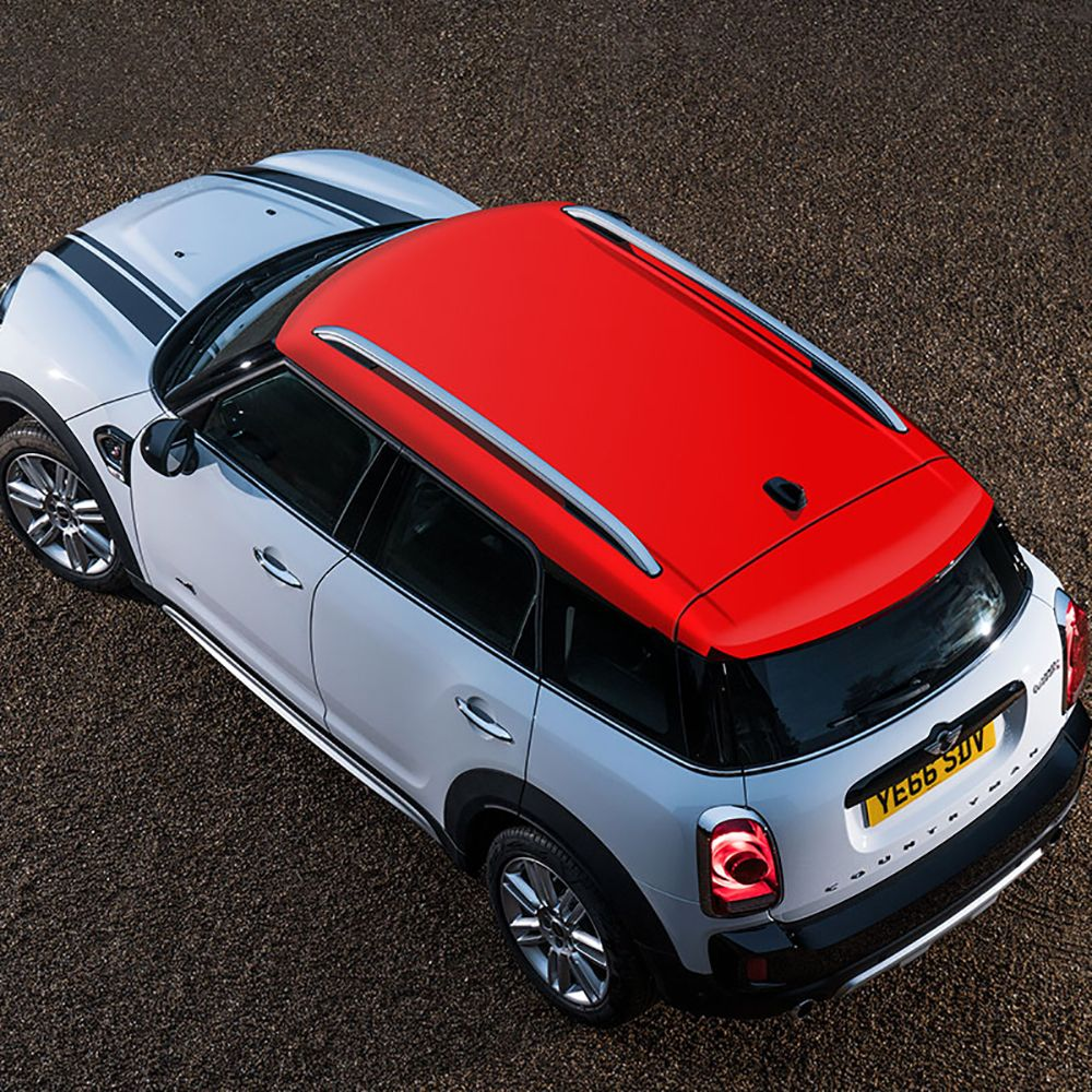 Red Union Jack Auto Schiebedach Dach Aufkleber Decals Auto Für MINI COOPER R55 R56 R60 R61 F54 F55 F56 F60 auto Accessoriers