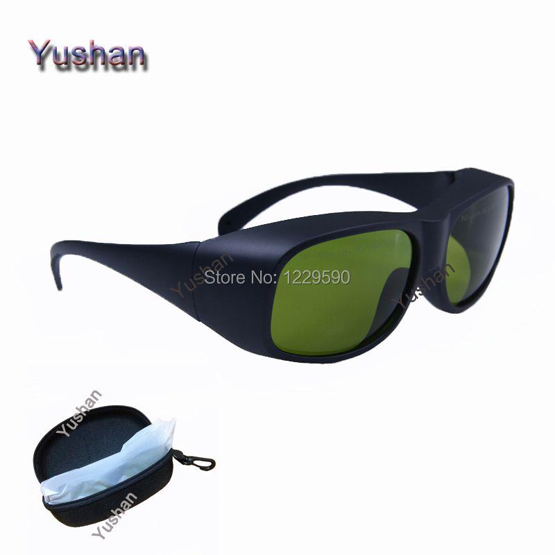 Lunettes de protection Laser multi-longueurs d'onde 755 & 808 & 1064nm ND: lunettes de protection Laser YAG