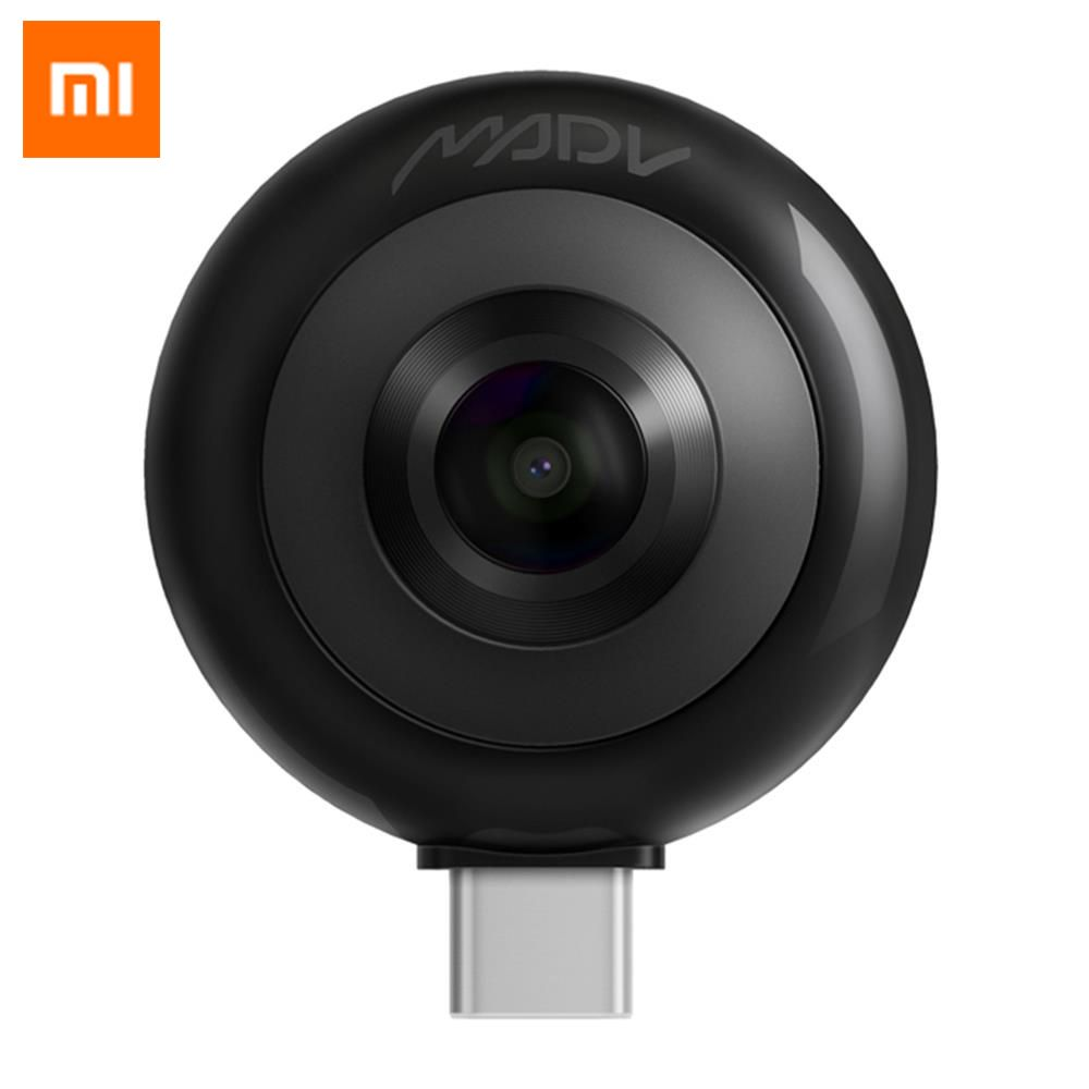 Xiaomi MADV Mini Panoramic Camera Dual 13MP Lenses 210 Degree Wide Angle For Android
