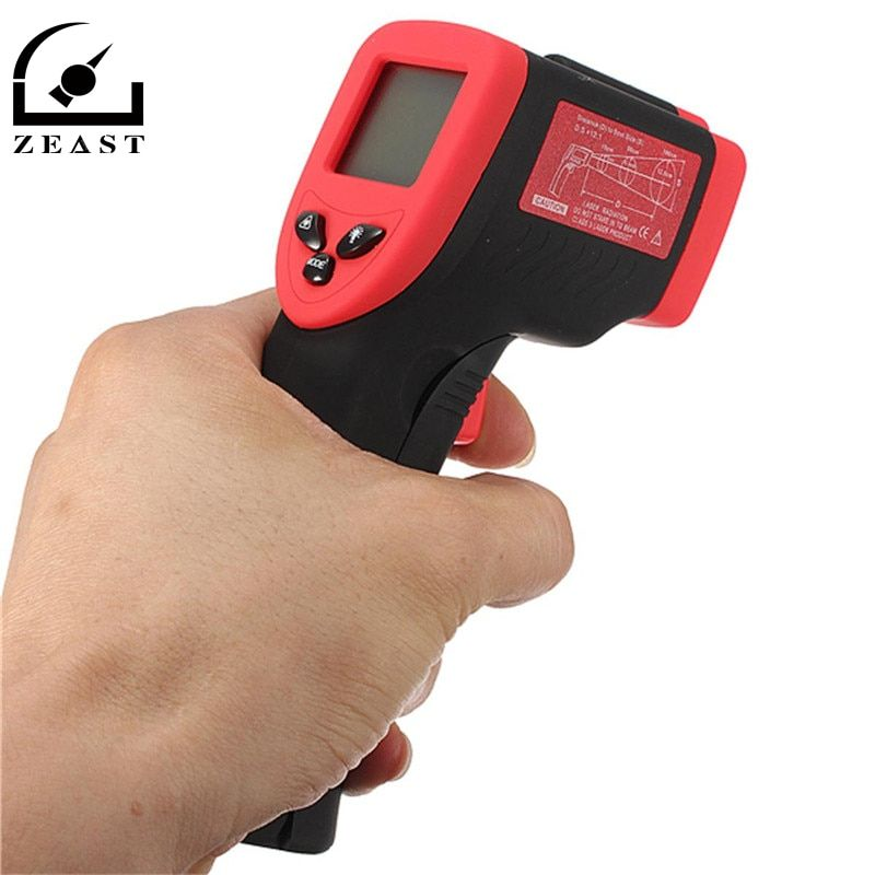 Digital <font><b>Thermometer</b></font> Infrared LCD display DT-500 Non-Contact IR Temperature Tester -50 to 500 Degree Termometro Multi-purpose