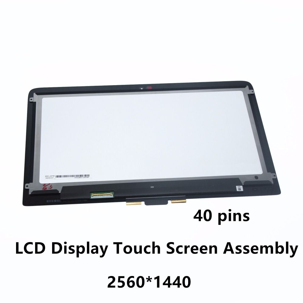 13.3'' QHD LCD Screen Touch Digitizer Assembly for HP Spectre x360 13-4101UR 13-4109NA 13-4116TU 13-4116DX 13-4105DX 13-4001NX