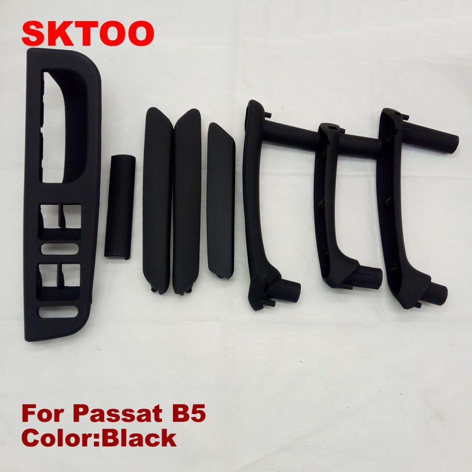 SKTOO For 1998-2005 Volkswagen Passat B5 door handle door handle armrest handle switch box black