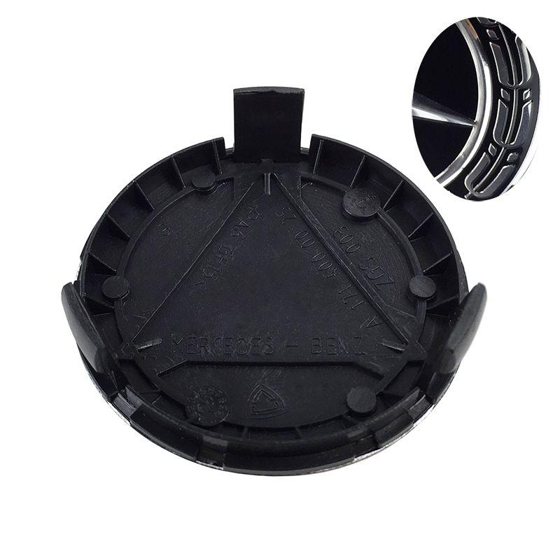 20pcs 75mm 3 pin Wheel center Hub Caps Cover cap Car Logo Emblem For Mercedes for A B C CLA CLS G M R S A1714000025