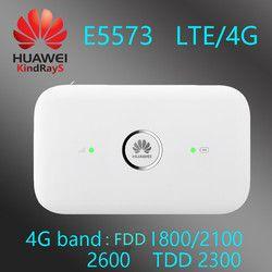 Unlocked Huawei E5573 E5573cs-609 3G 4G Router Nirkabel 150 M LTE Wi-fi 3G 4G Wifi Hotspot LTE MiFi Wifi E5573 E5573s-609
