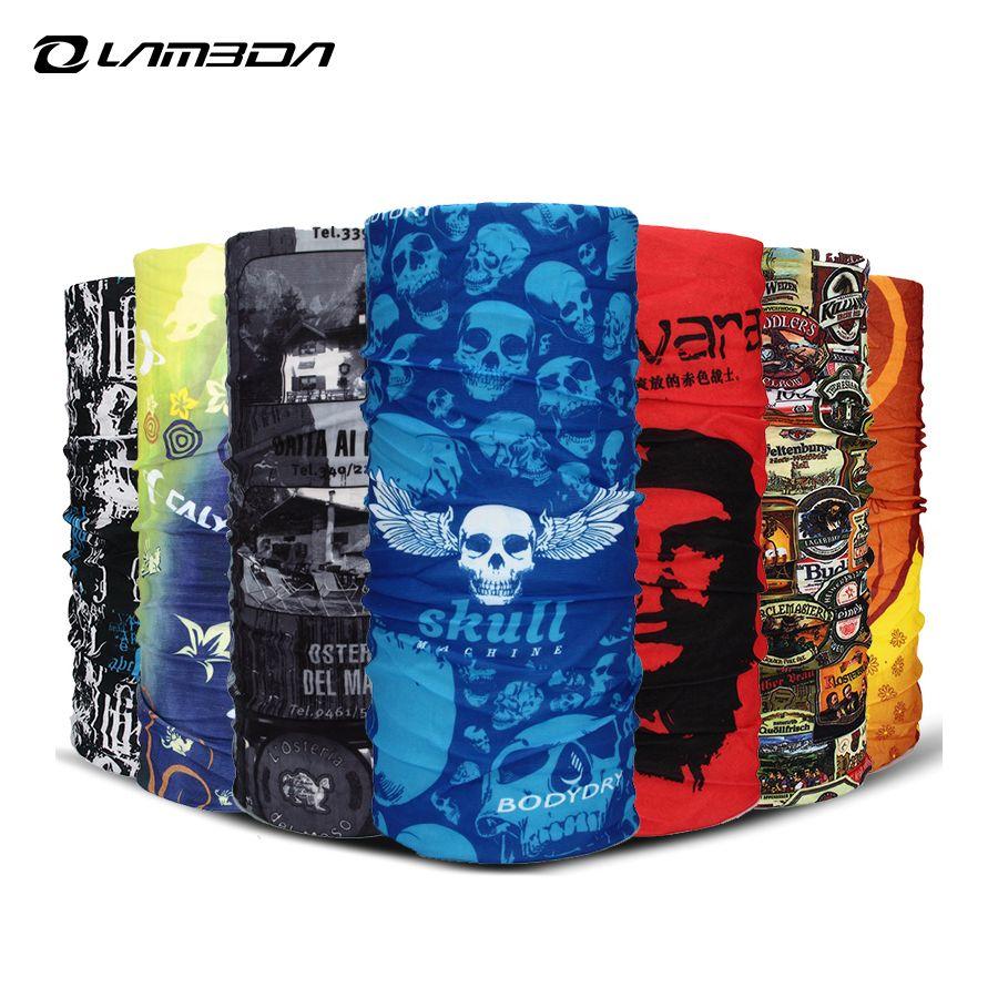 multifunctional bandana ciclismo headwear sport running cycling face mask brand bike magic headband head scarf women men