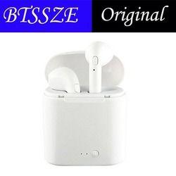 D'origine i7 TWS Bluetooth Écouteur Casque Écouteurs Sans Fil libre Avec Micro Portable Stéréo Intra-auriculaires Pour android pour iphone