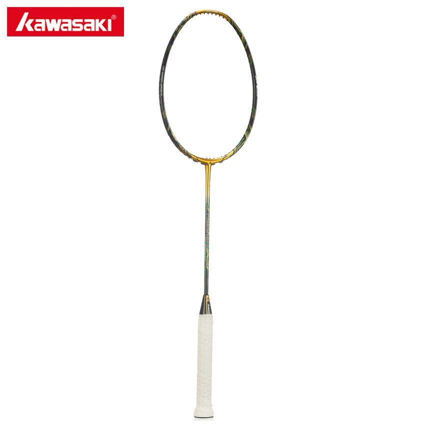 Kawasaki Master 800II Badminton Racket 3U 5 Stars 46T 3 IN 1 Box Type Frame with Scale X Technology Professional Racquet