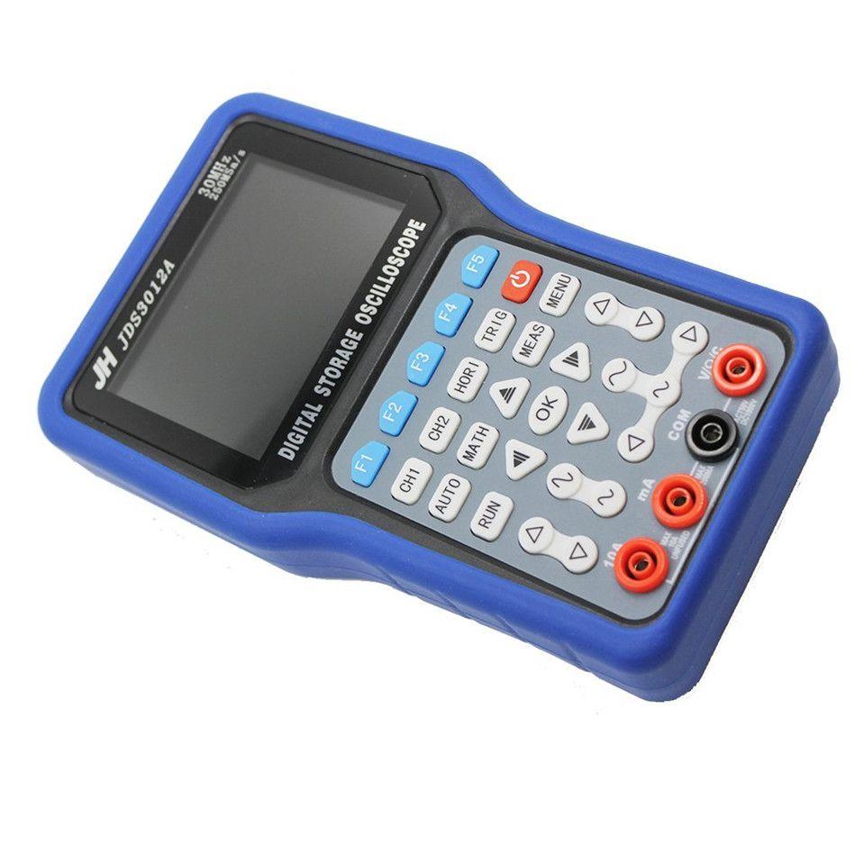 JinHan JDS3012A Series Handheld Digital Storage Oscilloscope and Digital Multimeter, 30MHz, Single Channel,250MS/s Sample Rate