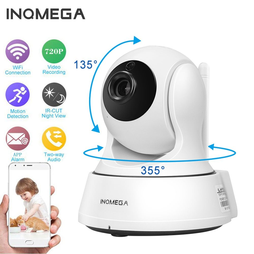 INQMEGA 720P IP Camera Wireless Wifi <font><b>Cam</b></font> Indoor Home Security Surveillance CCTV Network Camera Night Vision P2P Remote View
