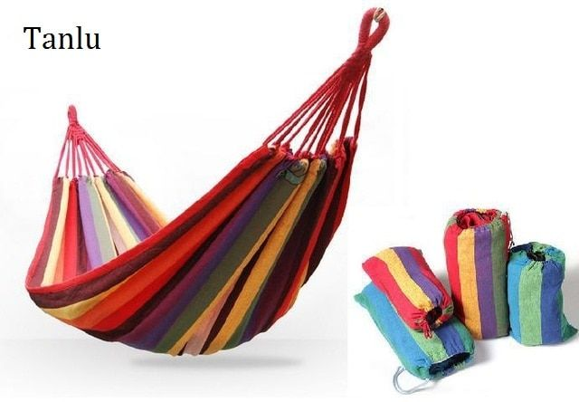 Tanlu Brand 2 people hammock for outdoor Hang BED Travel Camping Swing garden swing double person hammock Max 250KGS