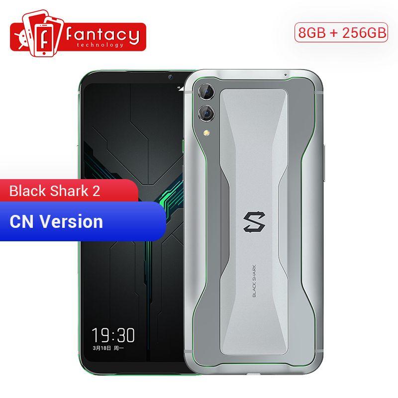 Xiaomi Schwarz Shark 2 8GB RAM 256GB ROM Gaming Telefon Snapdragon 855 Octa Core 6,39