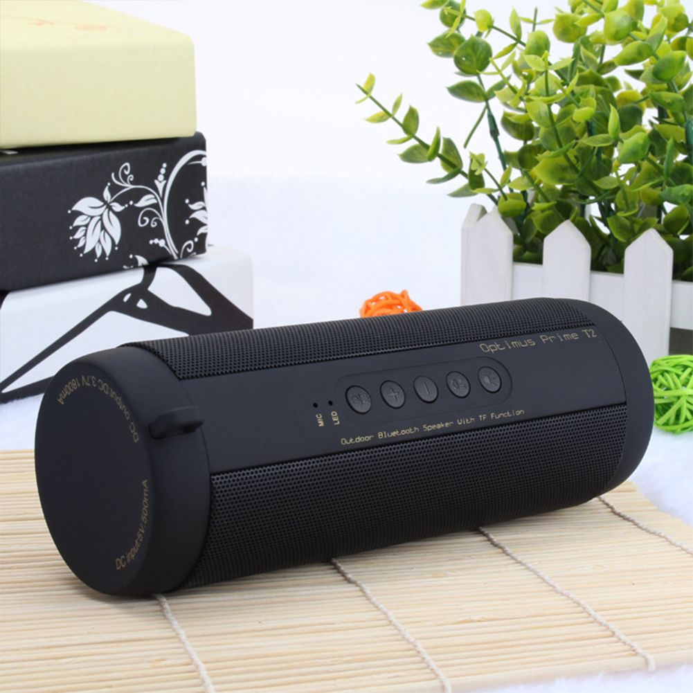 Professional IPX7 Waterproof Outdoor HIFI Column Speaker Wireless Bluetooth Speaker Subwoofer Sound Box with Flashlight Suppor
