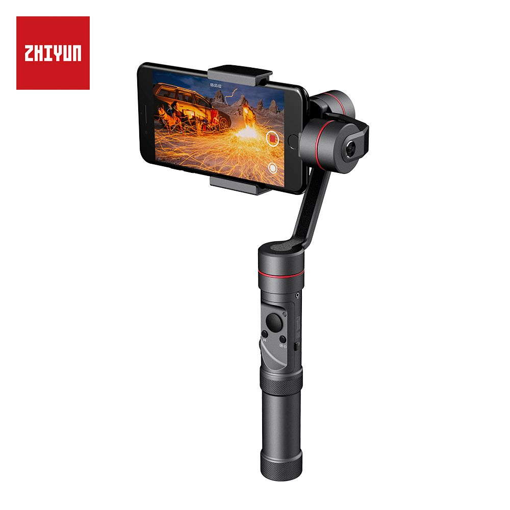 zhi yun Zhiyun Official Smooth 3 3-Axis Handheld Gimbal Stabilizer Phone Stabilizer for iPhone X 8 8 Plus 7 7 Plus