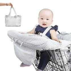 10 Styles Poissons Gris Bébé Panier Couverture Chariot Panier Siège Pad Enfant Chaise Haute Couverture Protecteur Pliable coussin Bande