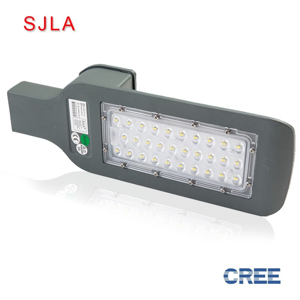 SJLA Warranty 5 Years IP67 Outdoor Industrial Garden Square Highway Farola Road Lamp 12V 24V 36V 30W 50W 100W Led Street Light