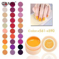 #561-590 Soak off CANNI 141 couleurs peinture gel 5 ml uv led couleur nail gel laque livraison gratuite longue durée couleur uv gel