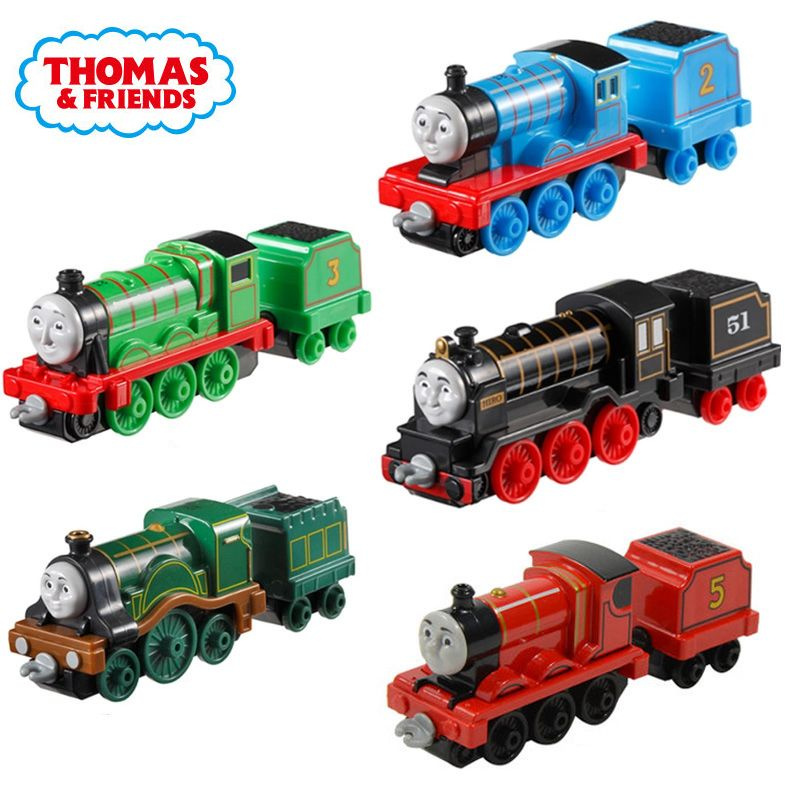 Thomas et ses amis s'entraînent avec le chariot Gordon Mini Trains accessoires ferroviaires jouets classiques en métal matériel jouets pour les enfants