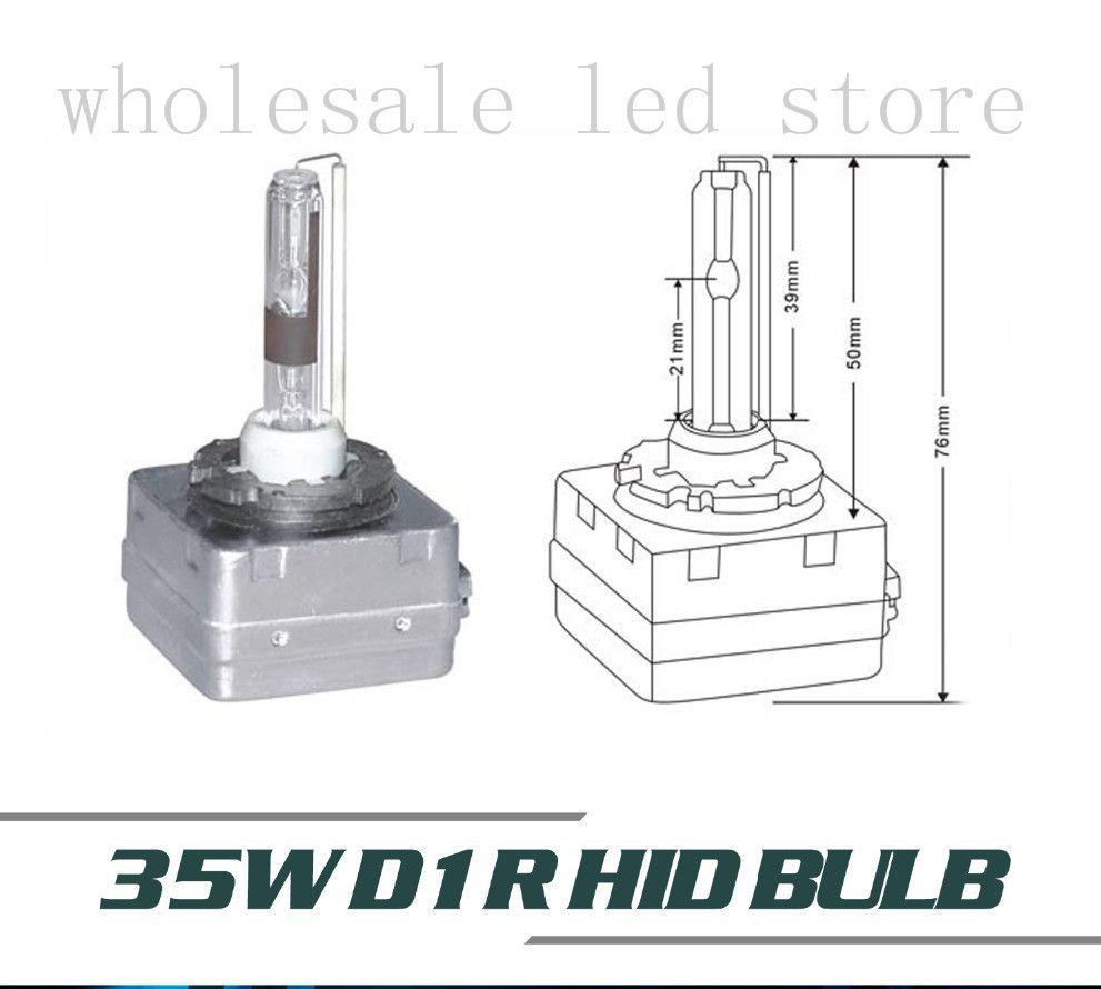 4X 35w D1R HID Xenon Bulb auto lamp Replacement 4300k Warm White D1 HID BULBS Free Shipping Super Bright Car Headlight