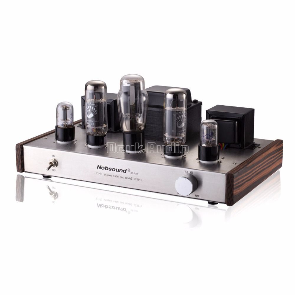 2018 Latest Nobsound 5Z3P Push PSVANE EL34 Single-ended Class A Vacuum Tube Amplifier 2.0 Channel Stereo Audio HI-FI Amp