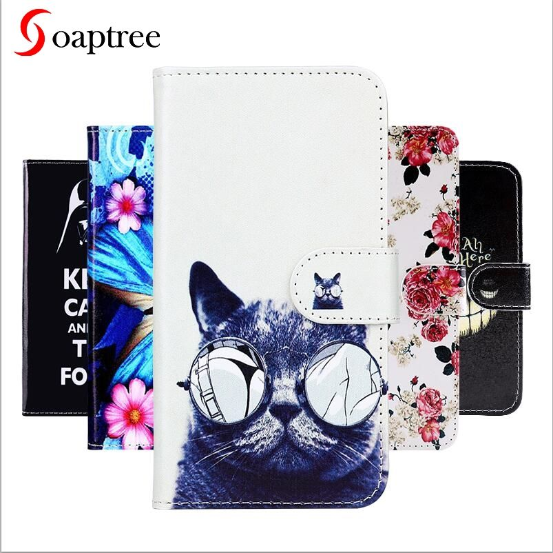 Soaptree Flip Leather Case For ZTE Blade A462 A310 A320 A330 A 511 A 515 BA511 A452 T620 X3 D2 L4 A460 A511 A515 BA511 PU Case