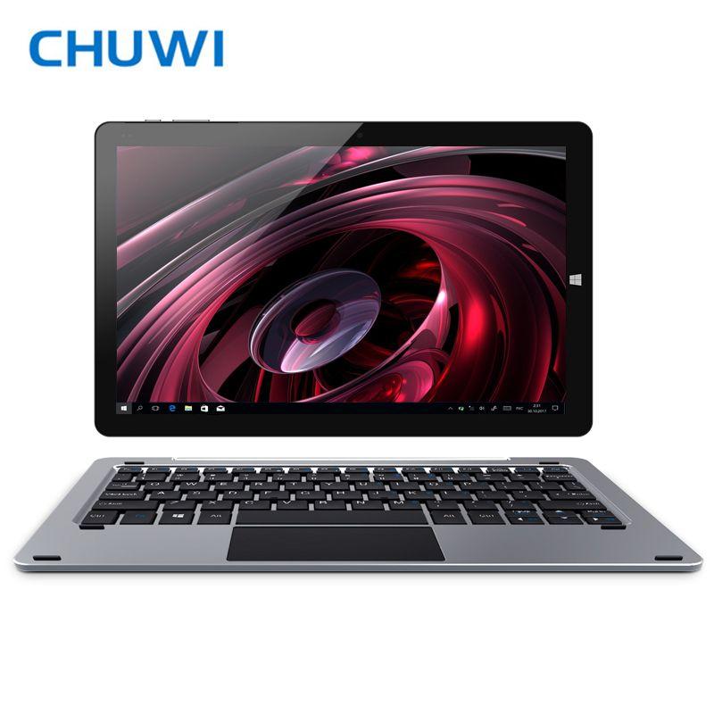 Original CHUWI Hi10 Plus Tablet PC Windows 10 Android 5.1 Intel Atom Z8350 Quad Core 4GB RAM 64GB ROM 10.8 Inch 1920X1280 2.0MP