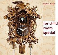 Reloj Cuco sala de estar Reloj de pared pájaro Cuco reloj despertador reloj moderno breve niños unicornio decoraciones Día del hogar alarma