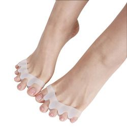 1 Pair Foot Care Tool Sholl Hallux Valgus Correction Of The Thumb Toe Separator Bursitis Pedicure Silicone Corrector For Toes