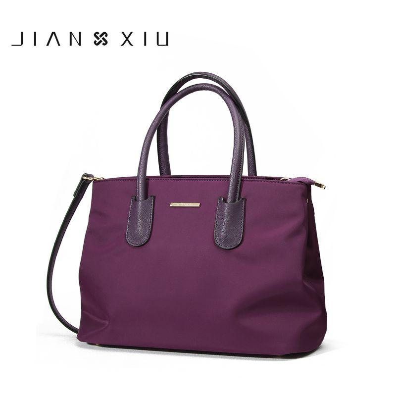 JIANXIUBrand Fashion Women Handbag Bolsa Feminina Luxury Handbags Women Bags Designer Sac a Main Oxford Shoulder Crossbody Bag