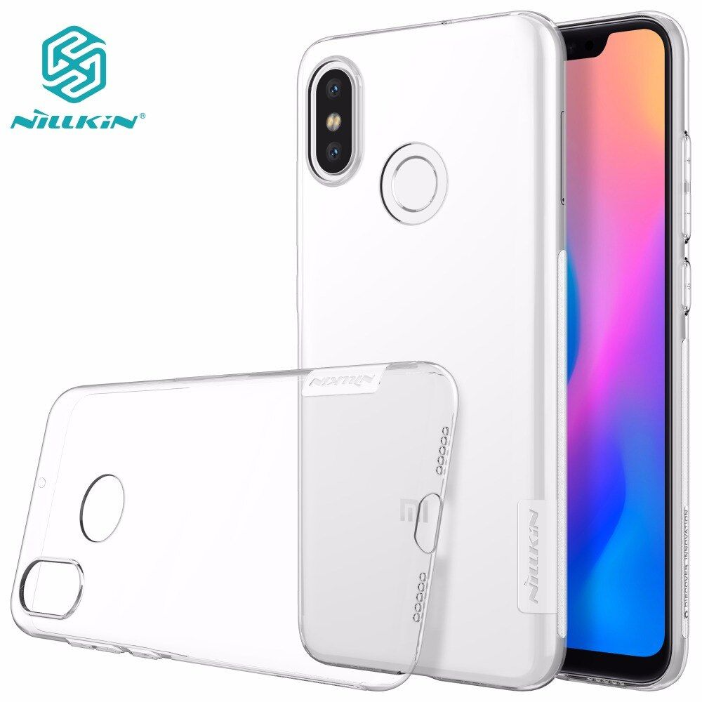 xiaomi mi8 case NILLKIN Nature TPU Transparent Clear Soft Back cover case for xiaomi mi 8 SE S mi6 with retailed package