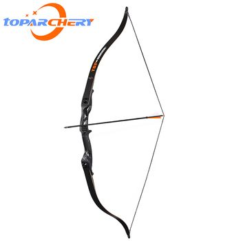 56inch 30-50lbs Archery Recurve Bow Takedown Bows Metal Riser Hunting Shooting Training Take Down Bow with Bag Rest