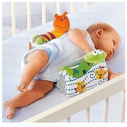 Bébé Infantile Nouveau-Né Anti-roulement Oreiller Sommeil Positionneur Prévenir Tête Plate Coussin