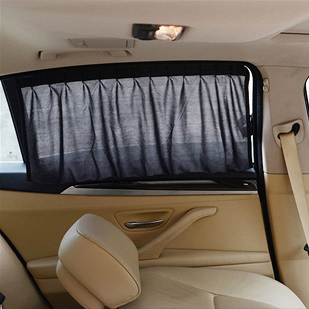 Car Sun Shade Auto Interior Accessories Car Curtains for Side Window Black Sunshade UV Protection Car Styling