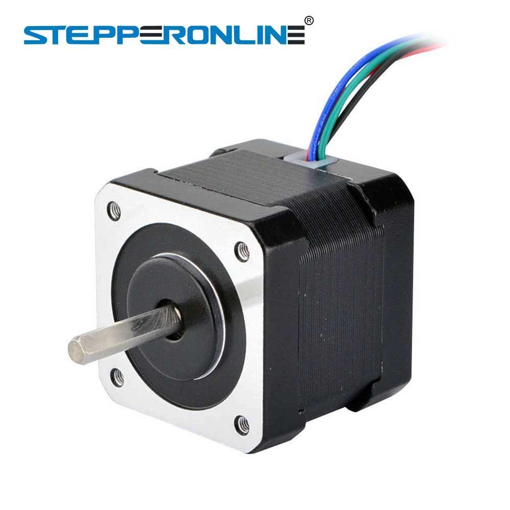 Nema 17 Moteur pas à pas Nema 17 Bipolaire 2A 1 m Câble (17HS16-2004S1) pour 3D Imprimante CNC Robot Reprap Prusa
