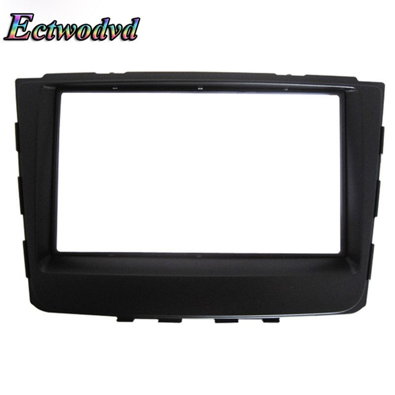 Ectwodvd 173*98/178*100/178*102MM Car Radio Fascia for Hyundai Elantra IX25 2014 2DIN Car Stereo DVD Frame Fascia Dash Panel