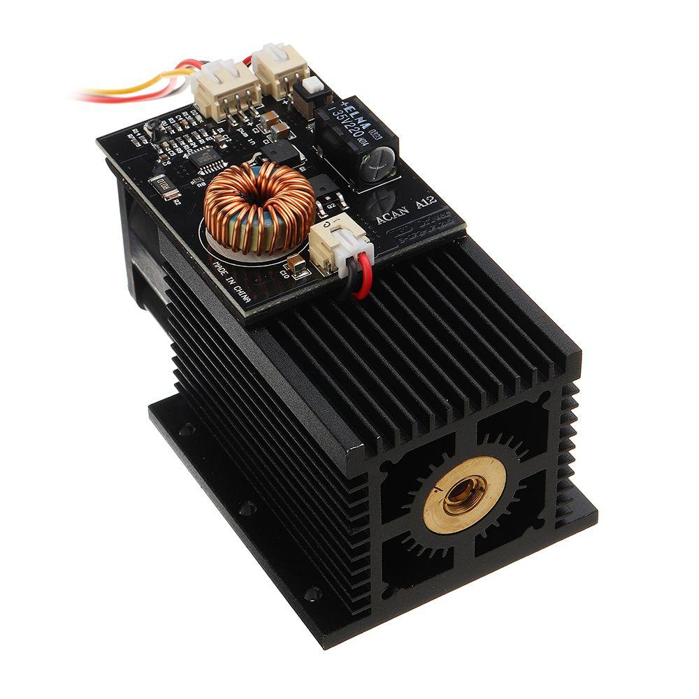 15 W High Power Laser Modul 445-450nm Blauen Laser Kopf Laser Gravur für DIY CNC Laser Stecher Maschine Neue