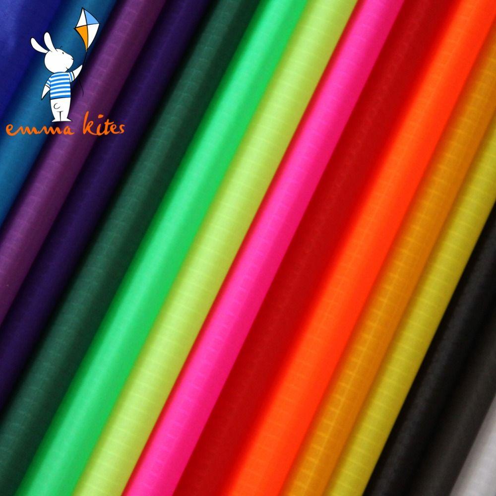 Ripstop Nylon Kite Stoff 10 Meter PU Beschichtet Freien Wasser Abweisend Stoff Tasche Banner Machen Tuch Zelt Tarp Abdeckung Zeug sack
