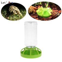 Pengumpan Peminum Dispenser Air Mangkuk Makanan Kadal reptil Putaran Botol Minuman Hidangan