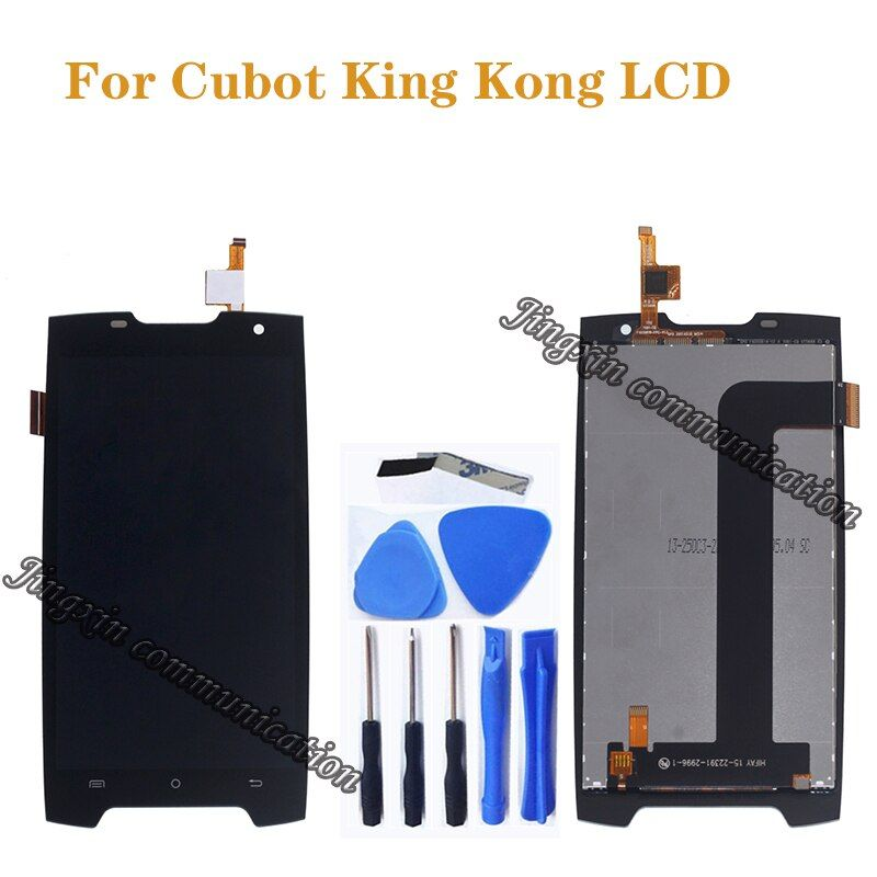 5,0 zoll für Cubot König Kong LCD + touchscreen digitizer ersatz für Cubot Kingkong LCD display bildschirm reparatur teile